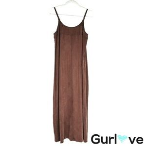 Hype Brown Rayon Oversize dress Size S